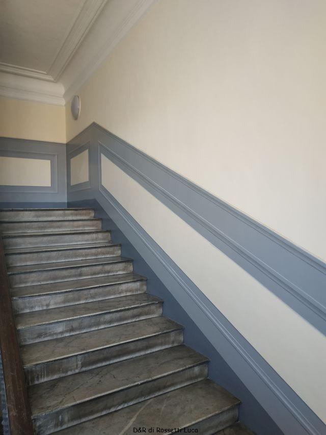 Decorazioni Scale Interne Decorazioni E Restauri A Torino